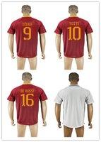 best football logos - BEST Thailand Quality Serie A Soccer Uniform Football Jerseys Embroidery Logos PEROTTI DZEKO TOTTI DE ROSSI