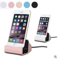 Wholesale Micro USB Charger Docking Stand Station type c Cradle Charging Sync Dock For iPhone S Plus S C For Samsung S6 S7 edge IOS Android