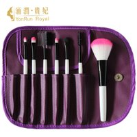 2000 beginner paint set - Professional brushes small seven branch toiletry eye shadow brush powder paint portable travel brush sets for beginners manufacturer speci