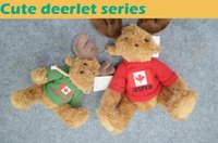 best stuffed animals for kids - 2016 new style soft plush toys stuffed animals toys deerlet with embroidered design on the red sweater stuffing toys best gift for kids