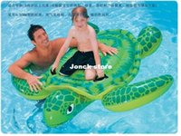 Wholesale Turtles mounts inflatable water supplies children floating ring mounts