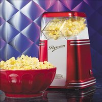 popcorn machine maker - Nostalgia Electrics Series Mini Hot Air Popcorn machine for home use best gift for children v machine new machin