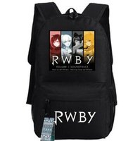 bags group - 4 girl Rwby backpack Weiss Schnee school bag Group photo Cartoon daypack Quality schoolbag New game play day pack