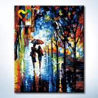 arts friendship - FriendShip Road Wall Art DIY Painting Baby Toys x50cm Educational Canvas Oil Painting Drawing Wall Art for Children with Wooden Frame