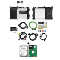 benz sd - Multi languages MB Star C5 Sd Connect for car truck Diagnostic tool with WIFI wireless function with HDD