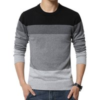 Wholesale hot new High quality Brands Twist sweater knitting Winter Men s O Neck Cotton Sweater Jumpers pullover sweater men