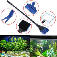algae types - 2016 New Aquarium in1 Cleaning Tool Set Fish Tank Maintenance Algae Cleaner Clean Brush Extension Type