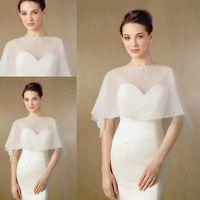 beads shawl - Princess Beads Collar Bridal Cape Jackets Shawl Wedding Cloak Bolero Shawl Coats Bridal Accessories Wedding Events Wraps
