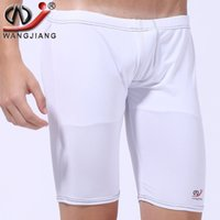 beach tights - Bodybuilding Shorts Summer Beach Men Sea Surf Tight Pants Trunks Men s Swimsuits Gay Penis Mens Sexy Sport Shorts