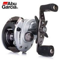 abu silver max - Pesca Carretilha Abu Garcia Silver Max Fishing Gear Magnetic Brake System Bass Fishing Reel Hih Speed Direito Crank