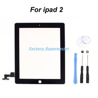 Wholesale Black Touch Screen Glass Digitizer Replacement M Adhesive Sticker Tools for iPad
