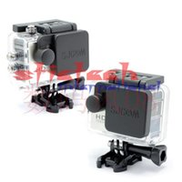 Wholesale 100pcs Scolour Protective Camera Lens Cap Cover Housing Case Cover set for SJCam SJ4000 WiFi