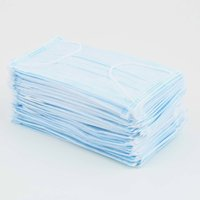 Wholesale 1000pcs Nail Medical dental disposable Ear_loop Face Surgical Mask Respirator Hot Selling