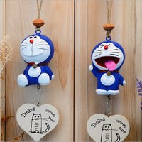 Wholesale Zakka DORAEMON wind chimes Creative home accessories Resin crafts Does not fade environmental protection no harm