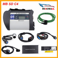 Wholesale 2016 High Quality MB Star SD Connect C4 Diagnostic Tool For Mercedes SD C4 With Wifi Software DHL