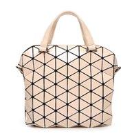 Wholesale Unisex Briefcases Hot Fashion Preppy style Women s Tote Shoulder bag for UNISEX Geometric Lattice SAME AS BAOBAO BAG
