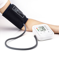 Wholesale Digital Arm Blood Pressure Pulse Monitors Health Care Tonometer Portable bp Blood Pressure Monitor meters sphygmomanometer