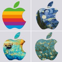 Wholesale Laptop apple LOGO Decal Sticker for Macbook Pro Air Inches