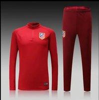 Wholesale 16 Suit Atletico Madrid training suit new Thai quality Atletico Madrid training suit