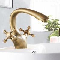al mount - Retro Golden Faucet Swan Neck Basin Mixer Tap Let Your Home Hotel Presents Noble Gorgeous AL K