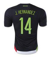Wholesale TOP Thai AAA Grade CHICHARITO Mexico jersey WHITE BLACK Mexico soccer jersey Mexico football soccer shirt