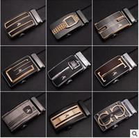 Wholesale 20pcs CCA4013 Fashion Mens Business Belt Luxury Ceinture Automatic Buckle Microfiber Leather Belt Wearing resistant Anti scar Men Waist Belt