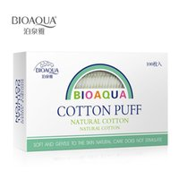 Wholesale BIOAQUA Cotton Pad Makeup Remover maquiagem Puff Organic Cotton Skin Care Padded Makeup Cotton Facial Cleansing Face