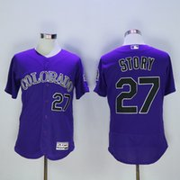 anti story - Colorado Rockies Jersey Blank Trevor Story Nolan Arenado Men s Stitched Embroidery Logos Flexbase Baseball Jerseys S XL