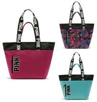 baby loves shopping - LOVE PINK Bag Women Bag Fashion Brand Vs Nylon Handbag Casual Shopping Bags Messenger Bags Girl s Shoulder Bag baby bag Mom bag B989