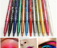 Wholesale Hot MN Automatic Plasitc Glitter Eyeliner Lip liner Colors Make Up Tool