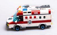 ambulance kids - Enlighten Ambulance Nurse Doctor Toys Minifigure Building Blocks Toys kids Christmas gifts playmobil Compatible With Legoe