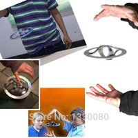 Wholesale New Special Fashion Mystery UFO Floating Flying Saucer Magic Toy Trick E5M1 order lt no track