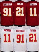 alfred red - 2016 Elite Mens Jerseys DeSean Jackson Sean Taylor Ryan Kerrigan Alfred Morris Kirk Cousins Stitched Free Drop Shipping