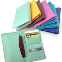 american experience - Colorful Personalized PU Leather Passport Holder Cover Case Wallet Ticket Holder from Experienced Factory