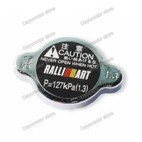 Wholesale Modified styling Bar Ralliart Radiator Cap For Mitsubishi Lancer EVO Outlander Pajero Eclipse Zinger Replacement Auto accessories