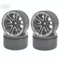 alloy beadlock wheels - 4PCS scale RC car Crawler quot Beadlock Alloy Spoke Wheels Rims RC4WD SCX10