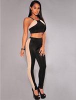 accent price - 2016 Smart Newest Most Popular Prettiest Reasonable Price And High Quality Hot Sale And SexyBlack Nude Mesh Accent Two Piece Pants Set