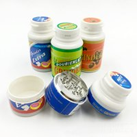 Wholesale 1pc MM CNC Parts Smoking Herb Grinder Zinc Alloy Metal Tobacco Colors Mini Hand Muller Crusher Cheap Grinder
