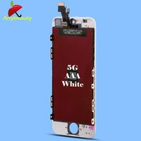 Wholesale 2016 New A For Iphone Glass LCDs Screen Display Digitizer Assembly Cell Phone Replacement