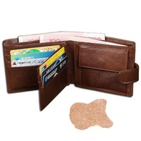 best coin purse - 100 cowhide leather wallet best wallets for man real leather purse with coin pocket trifold wallet men genuine leather