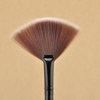 art brushes for makeup - Slim Fan Shape Powder Concealor Blending Finishing Highlighter Highlighting Makeup Brush Nail Art Brush for Makeup