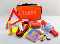 Wholesale First aid pieces mini all purpose car emergency kit repair tools Auto Safety Kit with car vacuum cleaner Auto Emergency TooL