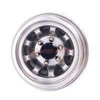 aluminum truck shell - 4X RC Truck Wheels ROCK CRAWLER Aluminum BEADLOCK Rims For AXIAL WRAITH