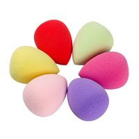 Wholesale Water Droplets Shape Makeup Sponge Flawless Smooth Powder Beauty Cosmetic Puff Foundation Make Up Clean Tools