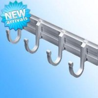 Wholesale 2013 NEW L280 H55MM Aluminum Muti function Hardware Towel rack Hook for Tower holder Sliver