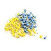 Wholesale x PCB Board Breadboard DIY Electronic Test Endpoint Pin Blue Yellow
