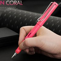 best safari - Fashion Design LAMY safari neon coral fountain pen Best quality Office Writen Fountain Pen