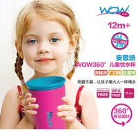Wholesale 2016 Multi style Color Options Wow Cup Good Quality For Kids With Freshness Lid Spill Free Drinking Cup Free Shhipping