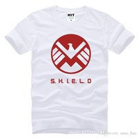 active agents - WISHCART Agents of S H I E L D SHIELD Eagle Printed Mens T Shirt T shirt Fashion O Neck Cotton Tshirt Tee Camisetas Masculina