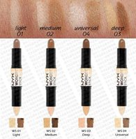 Wholesale NYX Wonder Stick Concealer Eye Face Makeup Cover Women Med Tan Highligher Colors